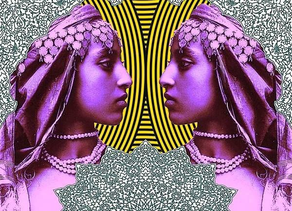 *Neon* Pop Maroc- graphic art by Laura Li