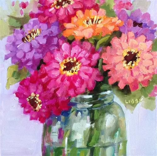 """Daily Paintworks - """"Group Policy"""" - Original Fine Art for Sale - © Libby Anderson"""