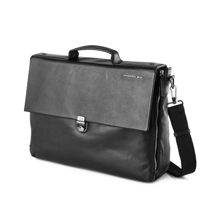 MANDARINA DUCK Duplex Briefcase 142FUCO3651 Black
