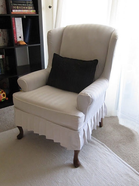 Chair Covers For Wingback Recliners Collapsible Rocking Best 25+ Slipcovers Ideas On Pinterest | Parsons Slipcovers, Parson And ...