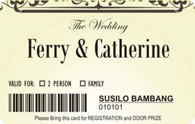 Contoh Undangan Pernikahan Unik Melalui Media Sosial 6