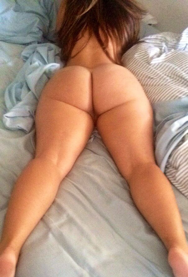 Amateur big white asses