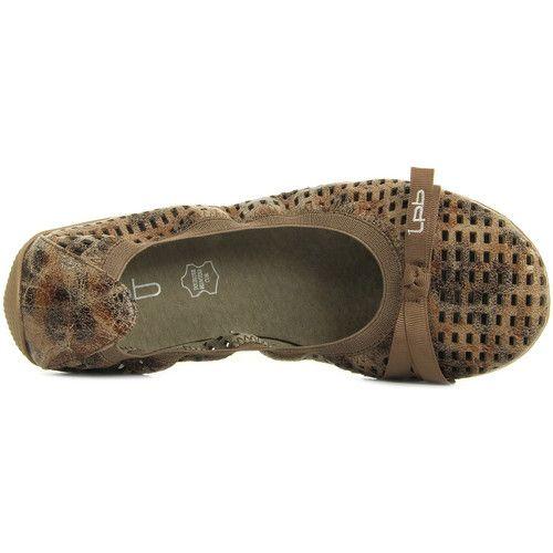 Les P'tites Bombes Ella Laser Taupe marrón - Envío gratis con Spartoo.es ! - Zapatos Bailarinas Mujer 34,99 €