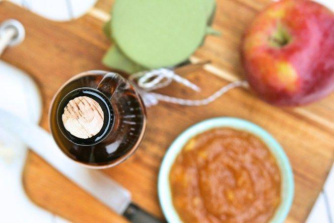 Apple preserve with calvados / Marmeláda s jablky a calvadosem