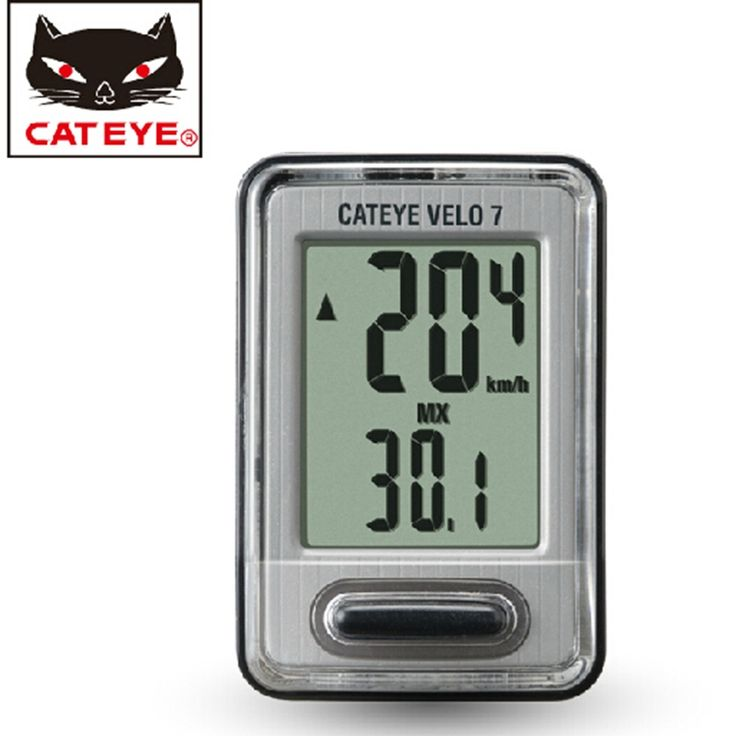 74.10$  Buy now - http://aliatj.worldwells.pw/go.php?t=32787652753 - CATEYE Bike Wired Light Led Taillight Headlight Cyclocomputer 3 Sets Cycling Odometer Bike Computer Speedometer 74.10$