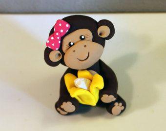 Mono personalizado pastel de cumpleaños para por carlyace en Etsy