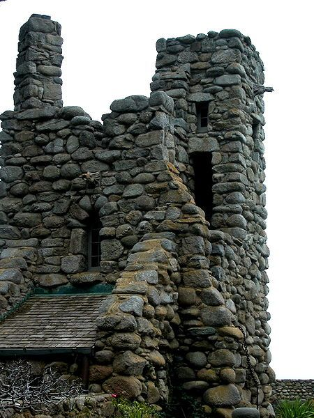 Hawk Tower - built by poet Robinson Jeffers in Carmel on the coast of Central California.