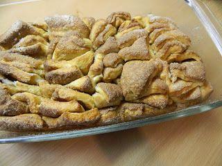 Tvoření od IVETULE: Trdelníkový chléb