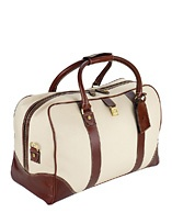 Travel Accessories for Men - Mens Canvas Weekender Bag - Aspinal of London
