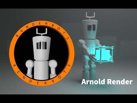 Cinema 4D :: Solid Angle - Arnold Renderer :: How to get started - Plugin - C4DtoA - YouTube