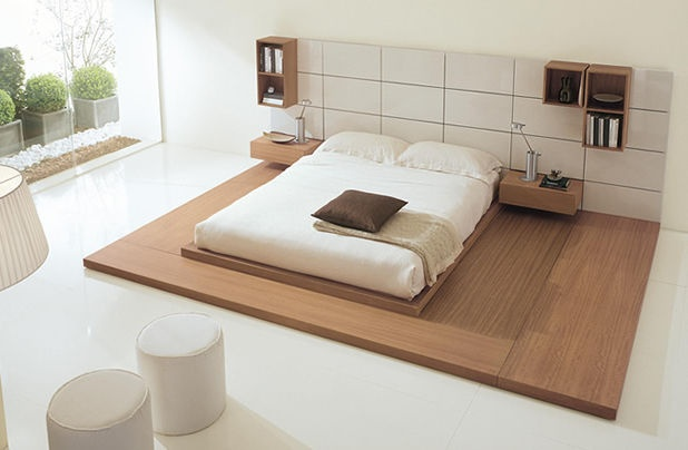 contemporary tatami double bed OASI Fimar Srl