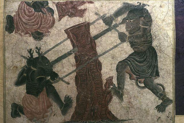 Demons sawing, siyah qalam | Flickr - Photo Sharing!