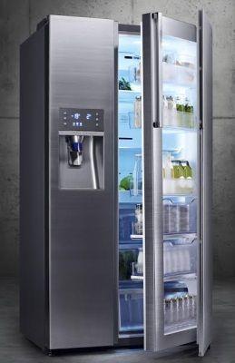 The Samsung Food Showcase Refrigerator (model: RH22H9010SR)