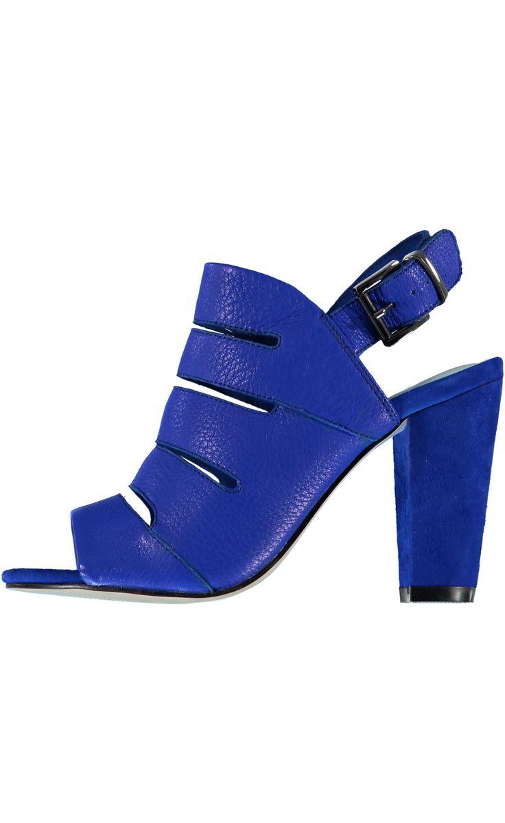 Foxy Babe High Heels - Cobalt