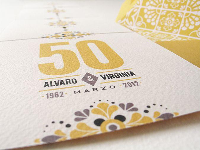 Bodas de Oro - Wedding Anniversary