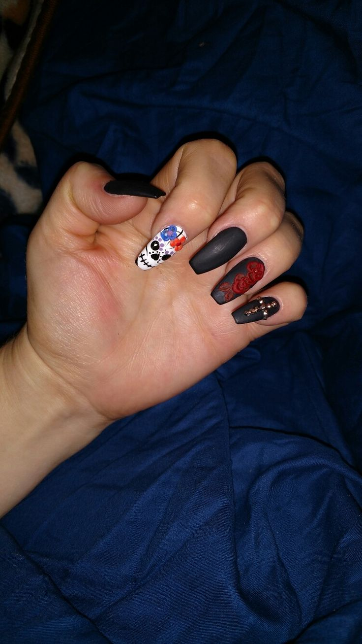 17 best Coffin shaped nails - my new obsession images on Pinterest ...