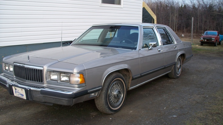 1991 Mercury Grand Marquis Bought this car with 70000 miles in