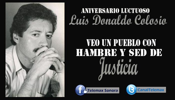 Este domingo 23 de marzo se conmemoró el 20° aniversario luctuoso del sonorense Luis Donaldo Colosio Murrieta.