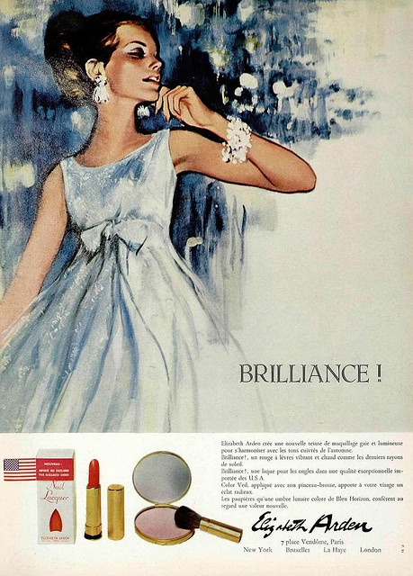 1960s ad : Brilliance by Elizabeth Arden
