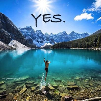 The Big Question Is Whether You Are Going To Be Able To Say YES To Your