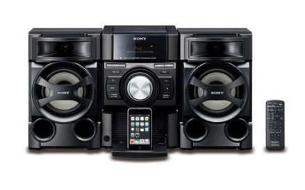 Hecho para iPod, Sube música, reprodúcela y contrólala desde tu mini. Toca tus CDs, Reproduce CD, CD-R/ RW y MP3. Acepta no sólo CD's originales sino aquellos que tu has grabado. Audio-in, Integra todos tus dispositivos digitales de música o PC's con una sencilla acción de plug- and- play. Woofer de 130mm tipo cono con tweeter de 40mm tipo cuerno