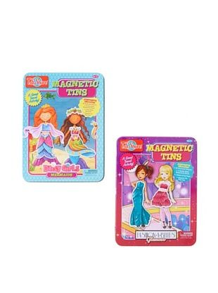 29% OFF T.S. Shure Daisy Girls Mermaids & Fashion-a-Belles Magnetic Tin Playset