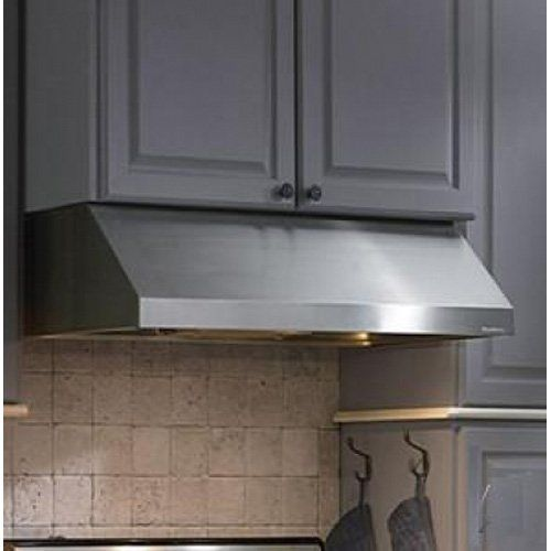 Vent A Hood Professional Series Standard Hood Under Cabinet Range Hood With  600 CFM Blower Internal Blower, Halogen Lighting, Straight Edge Design, ...