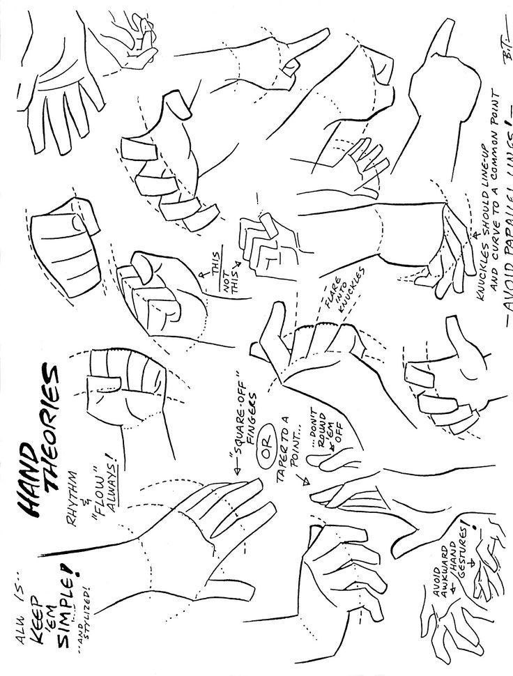 Hands style Bruce Timm repinned by www.BlickeDeeler.de