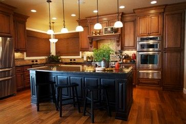 oven stack and cabinets Bismarck, ND - traditional - kitchen - other metro - House of Color Inc.