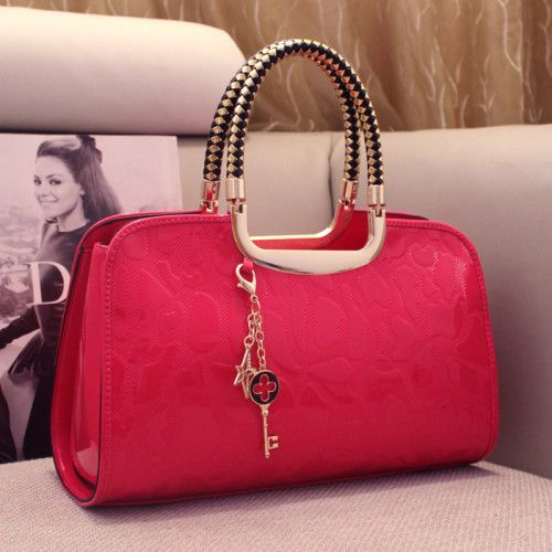 Pure Color Stone Pattern Fashion Women's Tote/Handle Bag 6colors