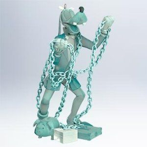 It's Goofy as Jacob Marley for the third entry in the Mickey's Christmas Carol series.  It's even a bit see through to help with the illusion.