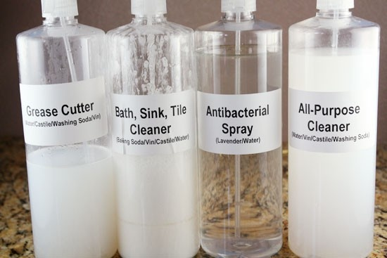 homemade cleaning supplies ahockenberry