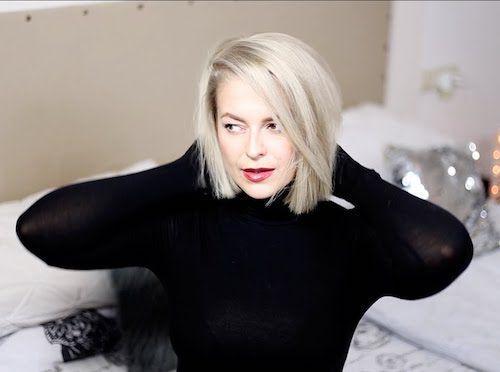 grau silber blond mit Olaplex – Erfahrungen – Trend Damen Frisuren –  – #Kur… – Kurzhaarfri…