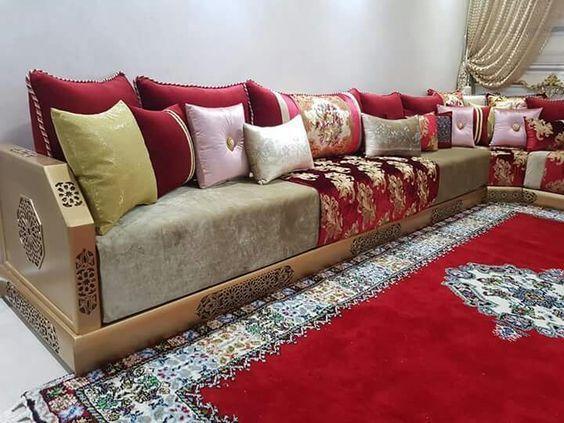 أحسن صور صالونات أنيقة مغربية Moroccan Living Room Dream House Decor Furniture Design Modern