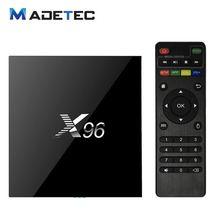 X96 2G/16G Android 6.0 TV BOX Amlogic S905X Quad Core Smart Tv box Wifi KODI 16.1 4K Media player Set Top Box VB21