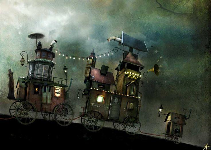 Новые сказочные зарисовки художника Alexander Jansson (44 фото - 4.47Mb)
