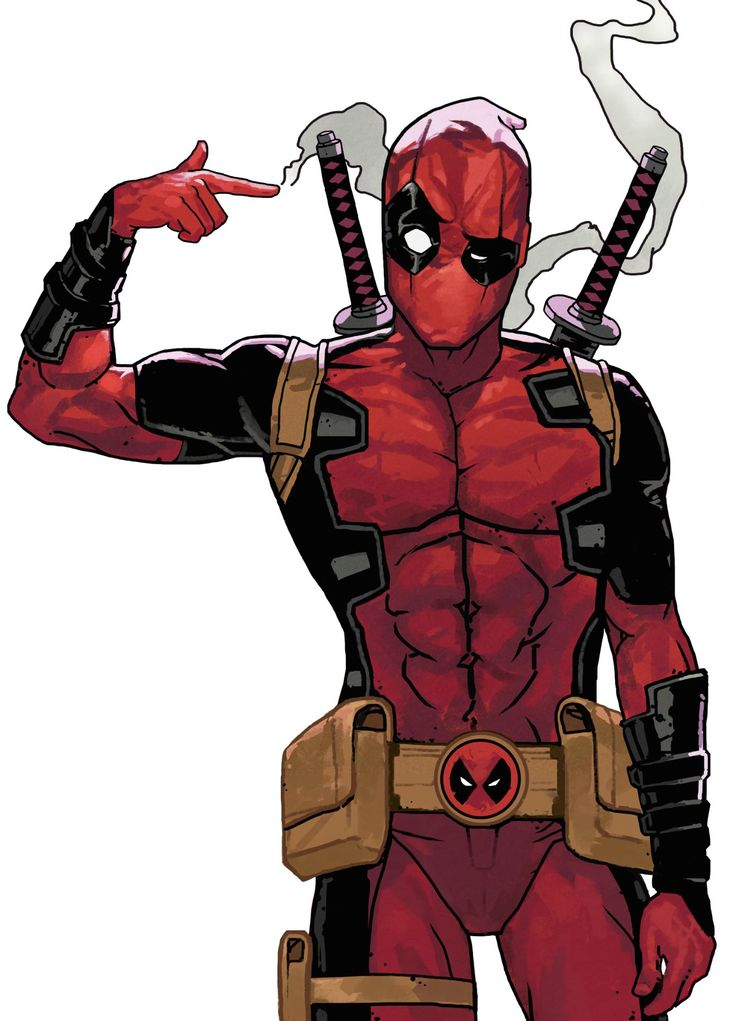 ArtStation - Dead Pool - Finger Gun, Dave Seguin