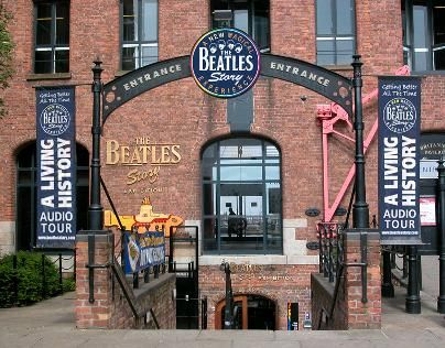 The Beatles Story, Liverpool, England. What a wonderful day spent there with my son, Mark and friends, Elaine and Steve Cummins. Thanks for this opportunity!!