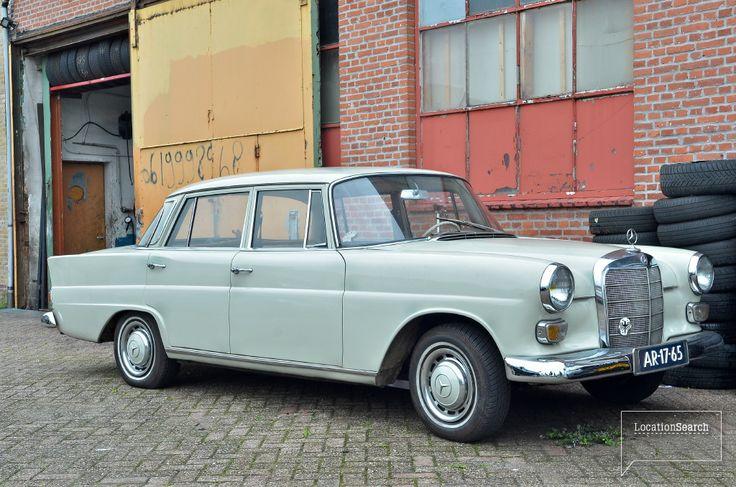 Mercedes bij bandenboer