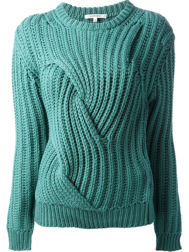Carven Chunky Cable Knit Sweater - - Farfetch.com