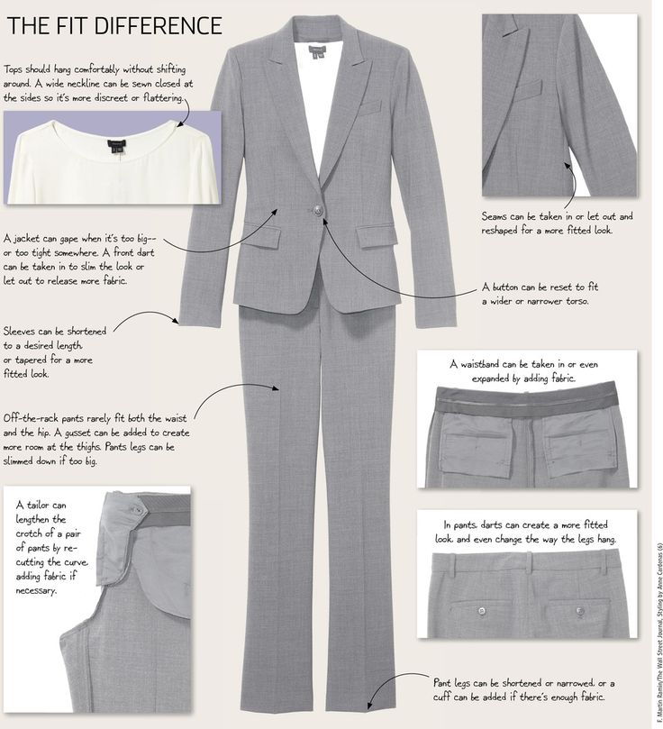 Tailoring Is the Secret of Well-Dressed Women. Subtle Nips and Tucks Can Transform a Look