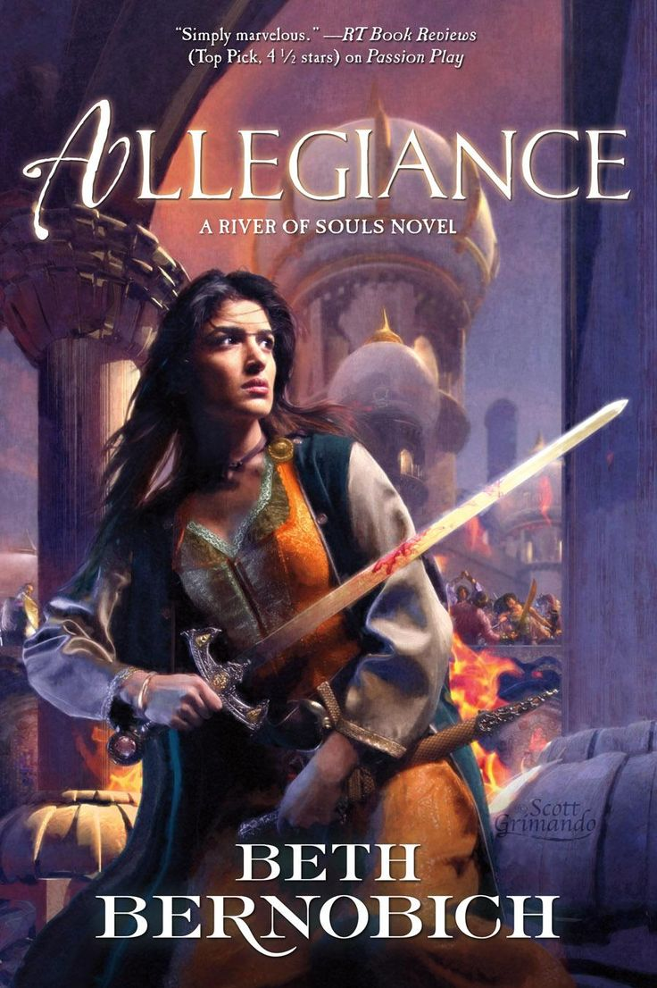 Allegiance By Beth Bernobich (book 3 Of A River Of Souls)