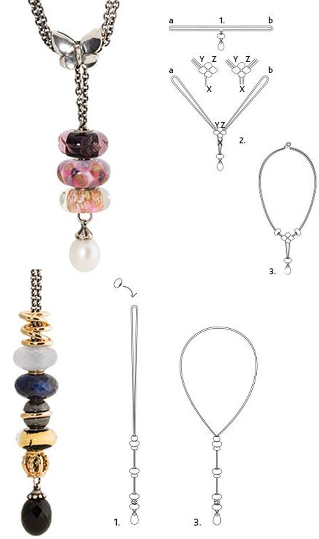 How to arrange your Trollbeads Fantasy Necklace. #Trollbeads #TrollbeadsFantasyNecklace #OrderTrollbeads