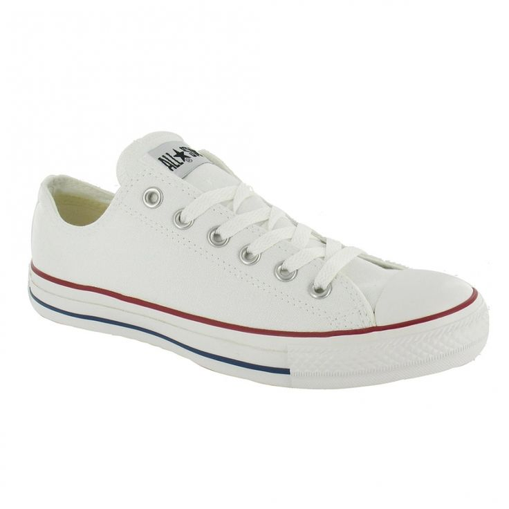 Converse All Star Oxford Unisex Canvas Shoes Optical White