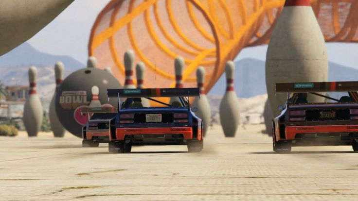 GTA 5: Race With Soccer Balls and Bowling Pins In Cunning Stunts DLC Traditional racing is a thing of the past thanks to the newest DLC pack for Grand Theft Auto 5. July 13 2016 at 02:45AM  https://www.youtube.com/user/ScottDogGaming