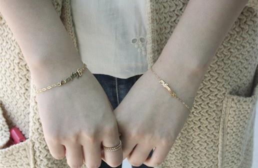 14k bracelet 14k 팔찌