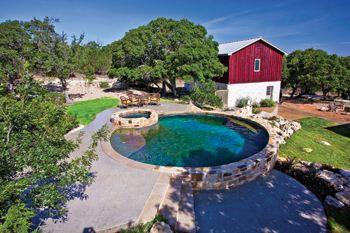 Round galvanized stock tank google search outdoors - Convert swimming pool to rainwater tank ...