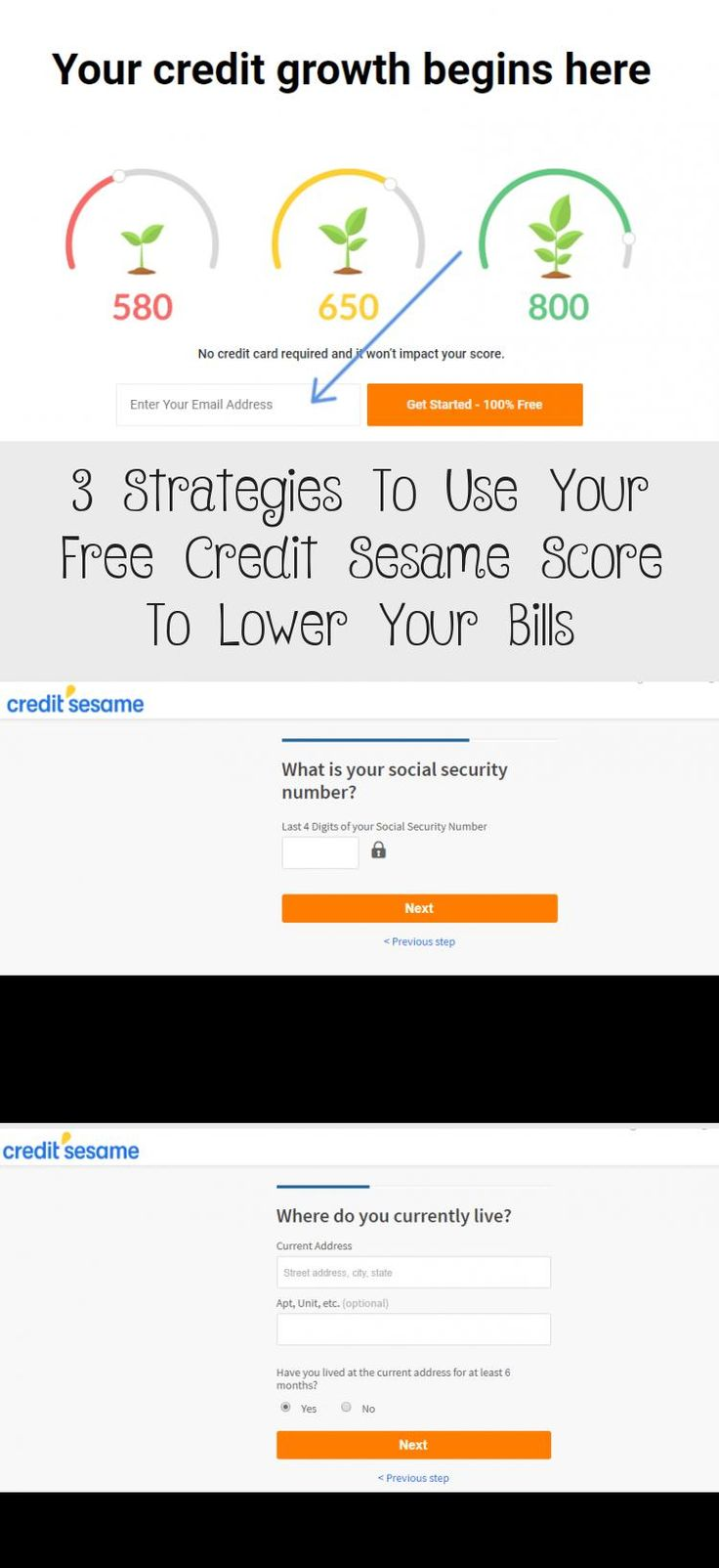 3 strategies to use your free credit sesame score to lower