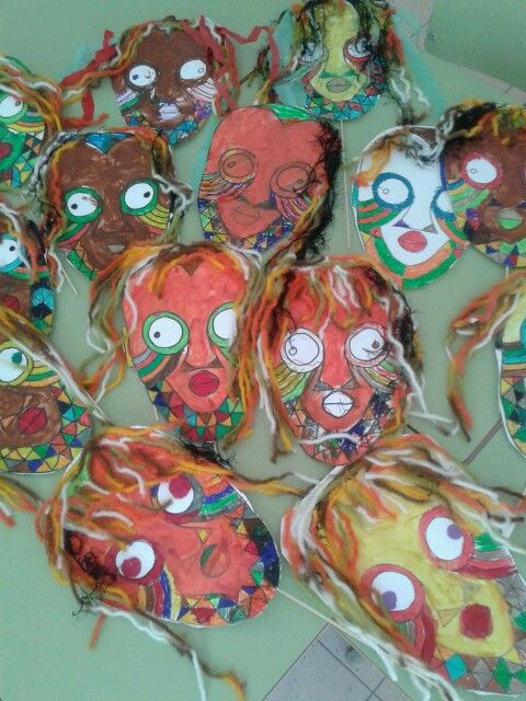 mascaras africanas: Mascares Africanes, Mascaras Africanas