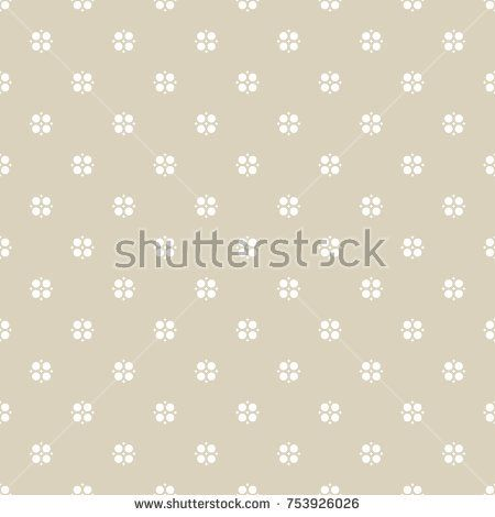 Seamless abstract geometric floral pattern. Vector beige and white background. Elegant abstract vintage ornament in oriental style. Subtle ornamental texture. Repeat design for decor, fabric, textile